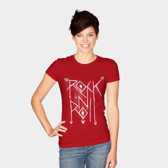 Rock N Roll t-shirt design
