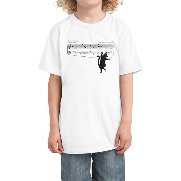 The red dot sonata t-shirt design