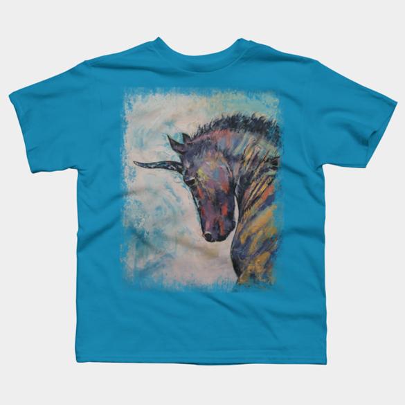 Unicorn t-shirt design