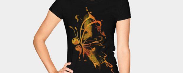 ButterFire t-shirt design