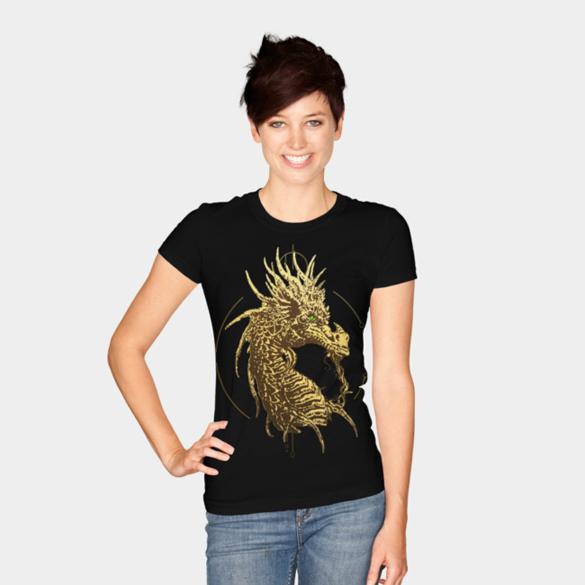 Dragon t-shirt design