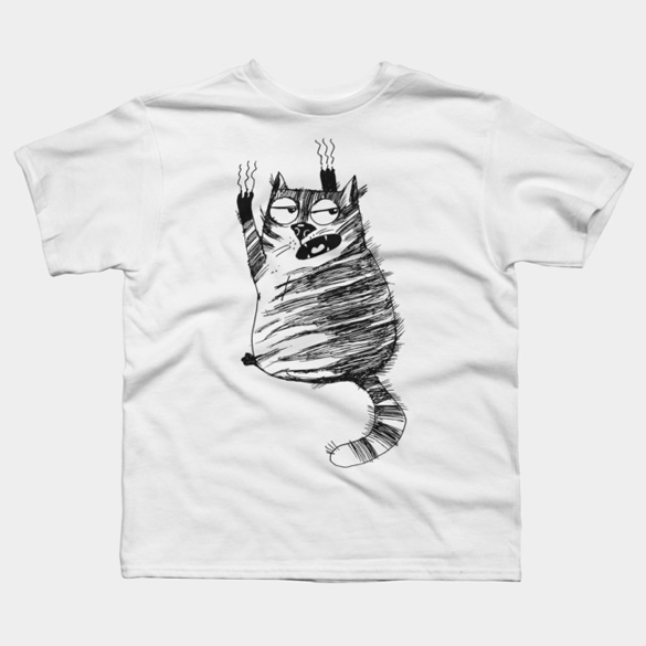 Funny Cat t-shirt design