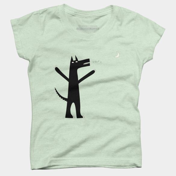 Arooo! t-shirt design