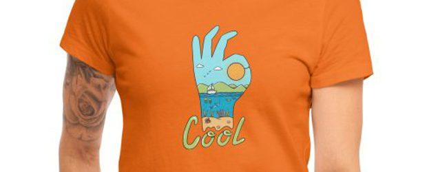 Nature Cool t-shirt design