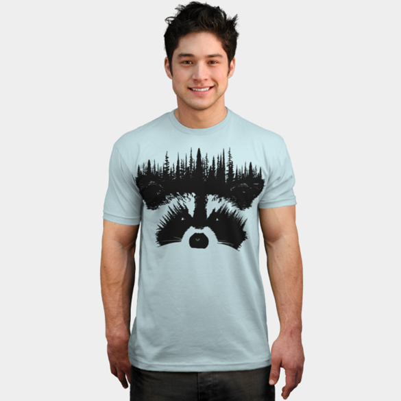Raccoon t-shirt design