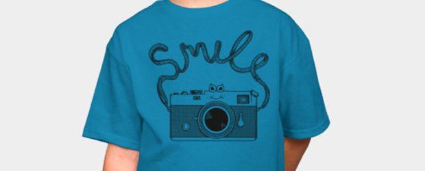 Smile t-shirt design