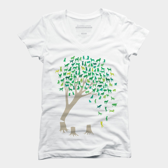 Source Tree of Life t-shirt design