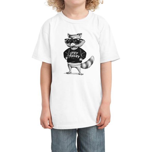 Stay Trashy Raccoon t-shirt design