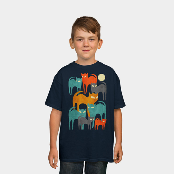 Stray Cats t-shirt design