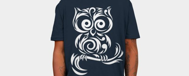 White Owl t-shirt design