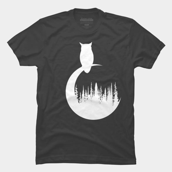 White Owl t-shirt design