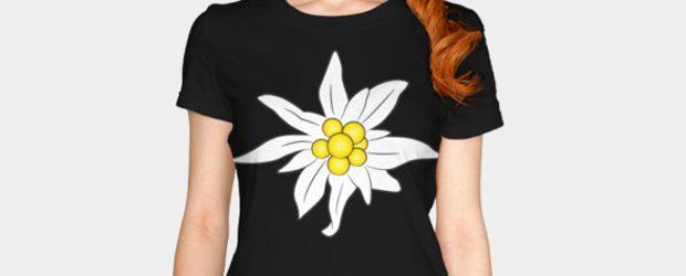 Edelweiss t-shirt design