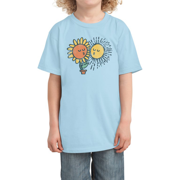 Sun kissed t-shirt design