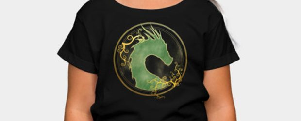 Forest Dragon t-shirt design