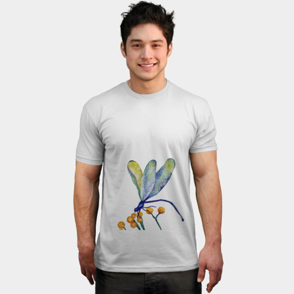 Dragonfly t-shirt design