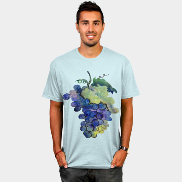 Grapes t-shirt design
