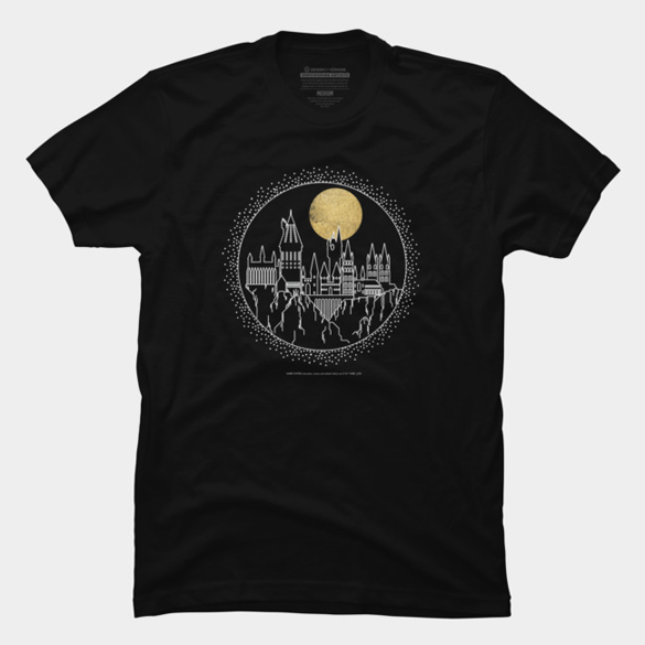 Hogwarts Line Art t-shirt design