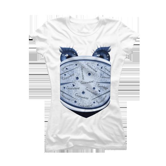 Quarantine t-shirt design