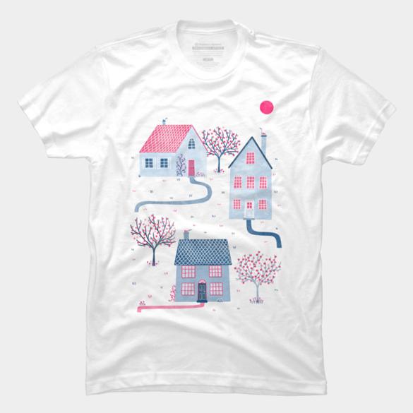 Spring in Townsville t-shirt design
