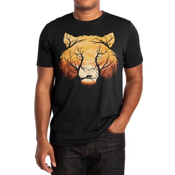 Wild Sunset t-shirt design