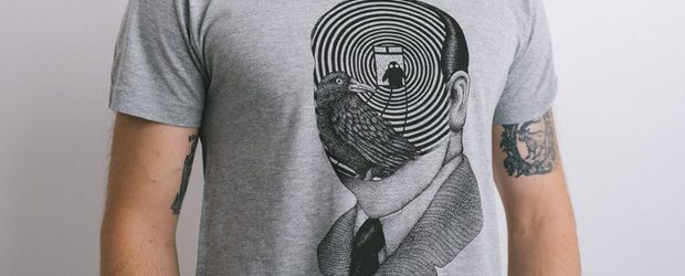 Alfred Hitchcock T-shirt design