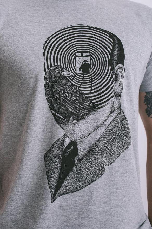 Alfred Hitchcock T-shirt design