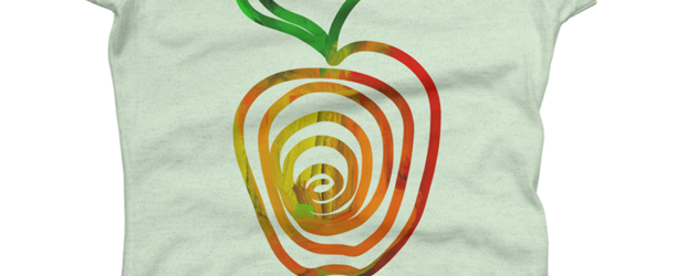 Apple t-shirt design