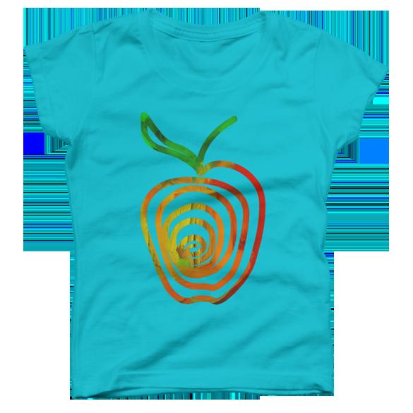 Apple t-shirt design