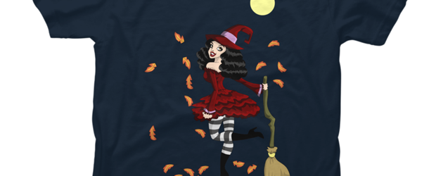 Be Witched! t-shirt design