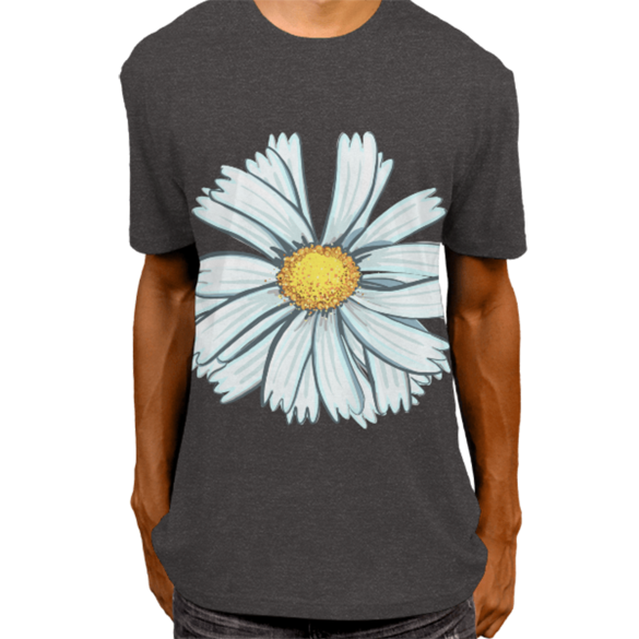 Camomile t-shirt design