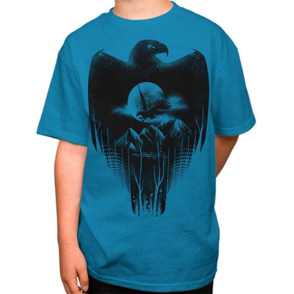 Eagle´s Night t-shirt design