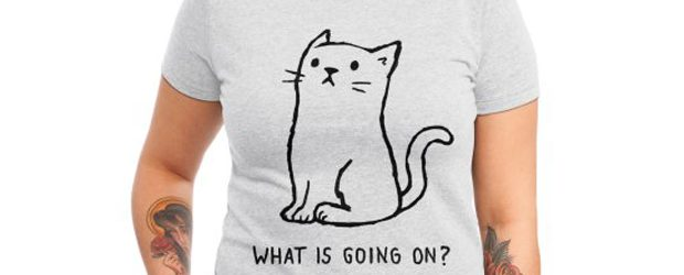 What Is Going On? t-shirt design