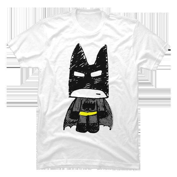 Doodle Batman t-shirt design