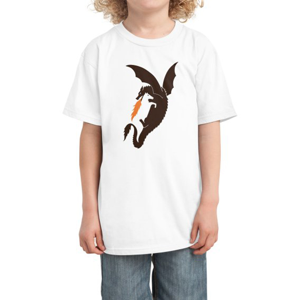 Dragon and horse t-shirt design