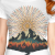 Everest geometry t-shirt design