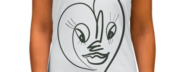Face t-shirt design