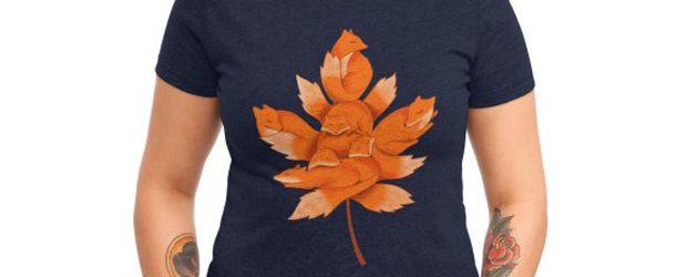 Fox t-shirt design