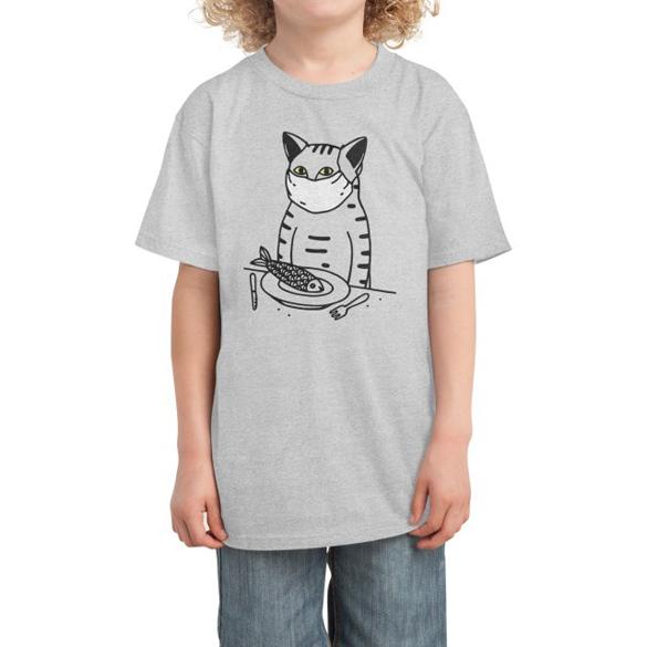 Quarantine Dinner t-shirt design