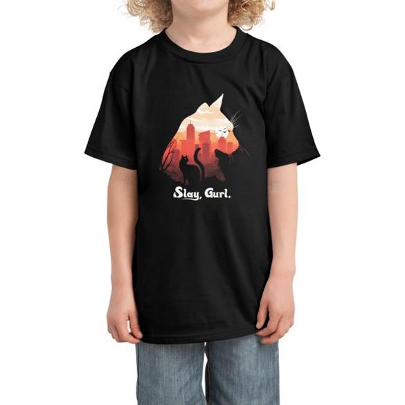 Slay Gurl Cat t-shirt design