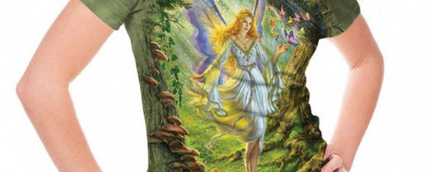 Fairy Queen t-shirt design