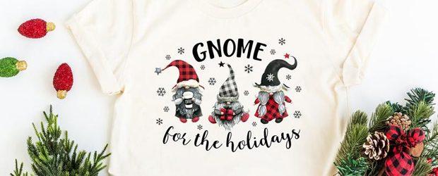 Gnome For The Holidays t-shirt design