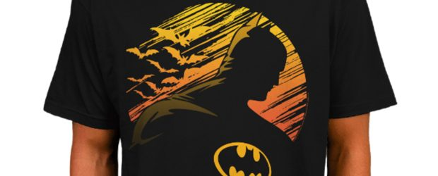 Batman Sunset Silhouette t-shirt design