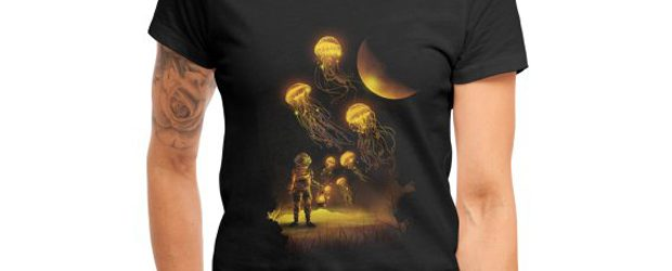Deep Space Diver t-shirt design