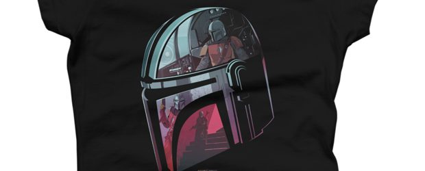 Helmet Reflection t-shirt design