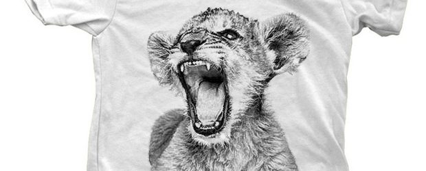 Lion Cub T-shirt design