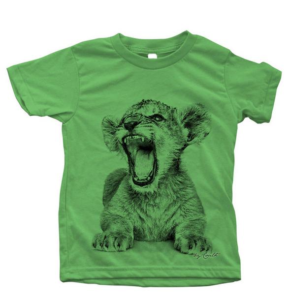 Lion Cub T-shirt design
