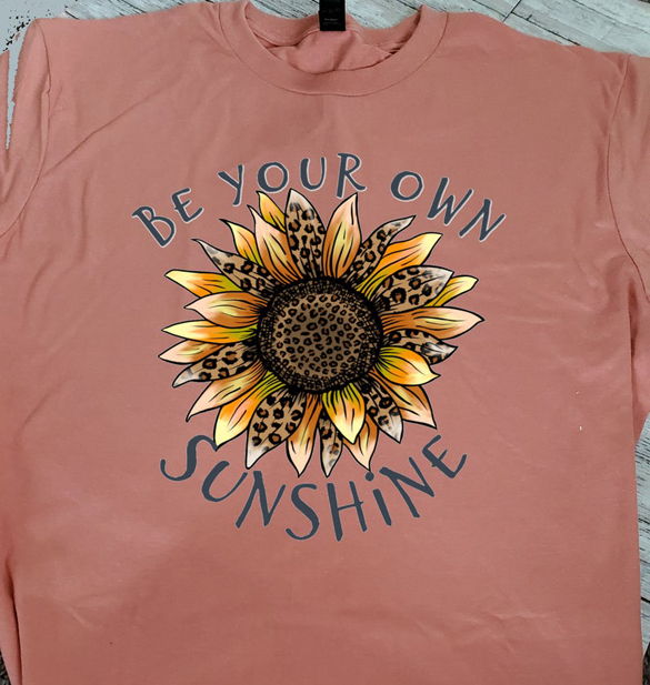 Be Your Own Sunshine t-shirt design