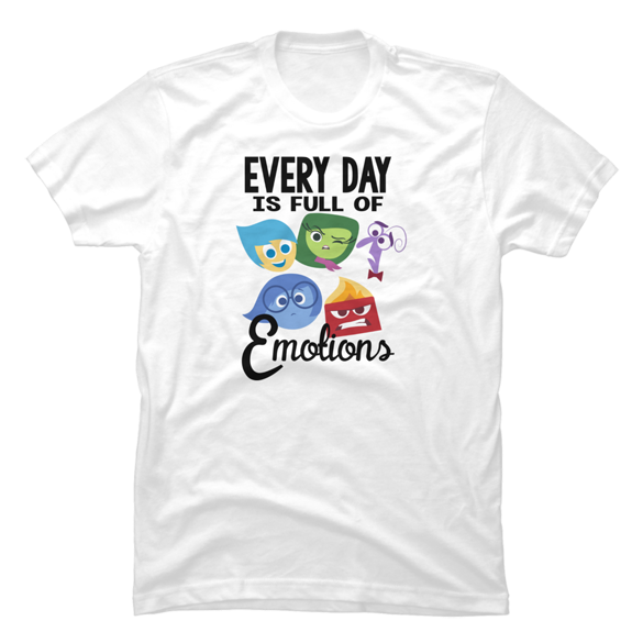 Inside Out Full of Emotions t-shirt design