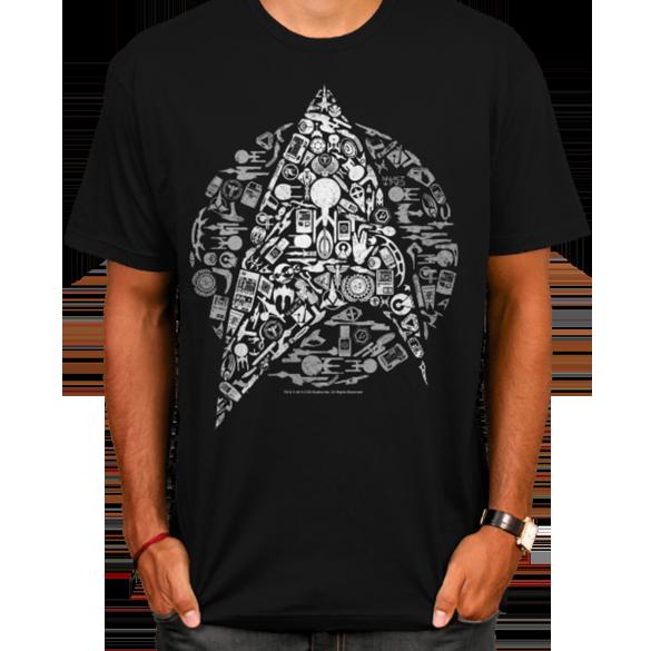 Star Trek Icons t-shirt design