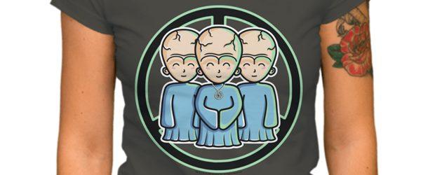 Talosians t-shirt design